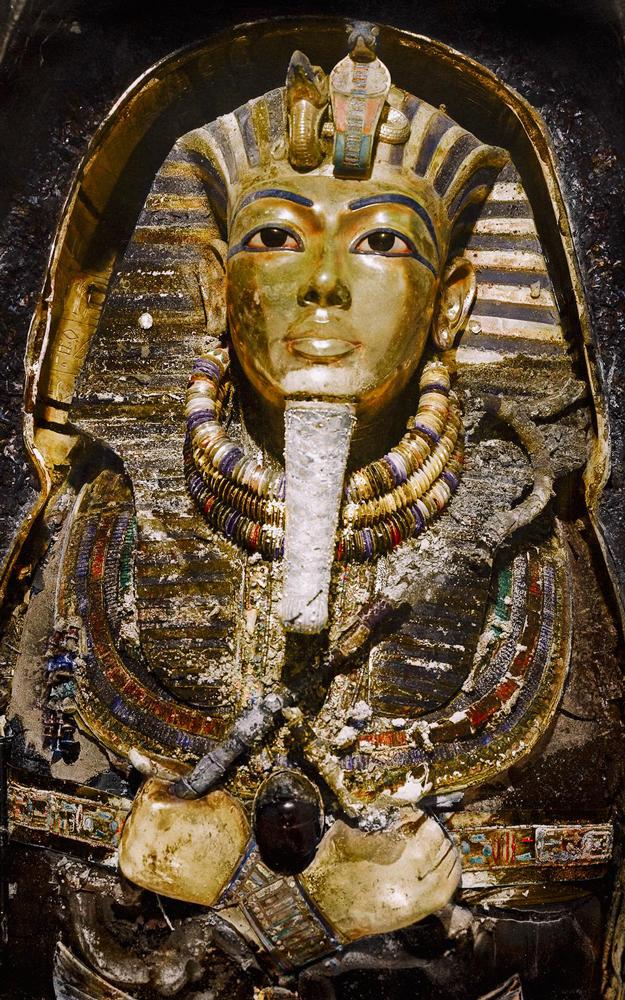king tut sarcophagus - egypt tours portal