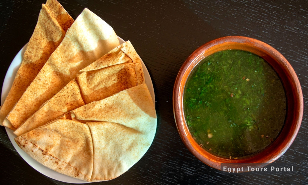Mulukhiya - Egyptian Food - Egypt Tours Porta