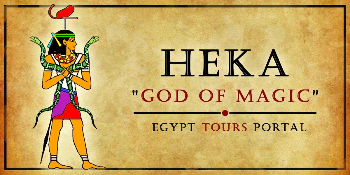 Heka, God of Magic - Ancient Egyptian Gods And Goddesses - Egypt Tours Portal