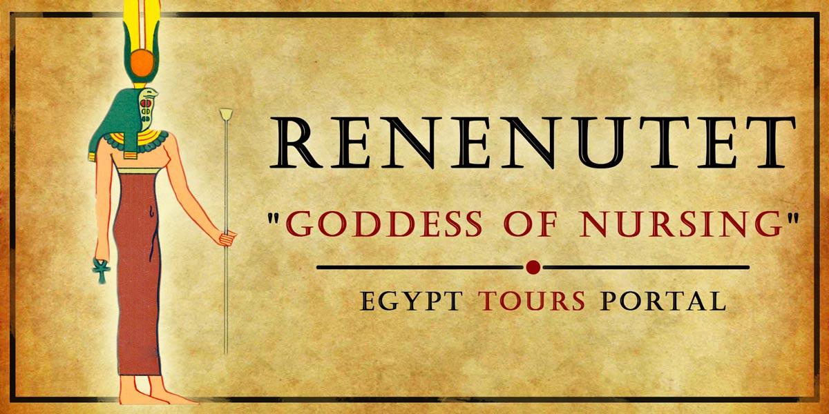 Renenutet, Goddess of Nursing - Ancient Egyptian Gods And Goddesses - Egypt Tours Portal