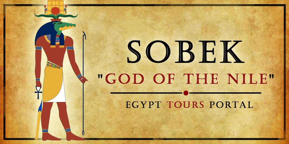Sobek, God of the Nile - Ancient Egyptian Gods And Goddesses - Egypt Tours Portal