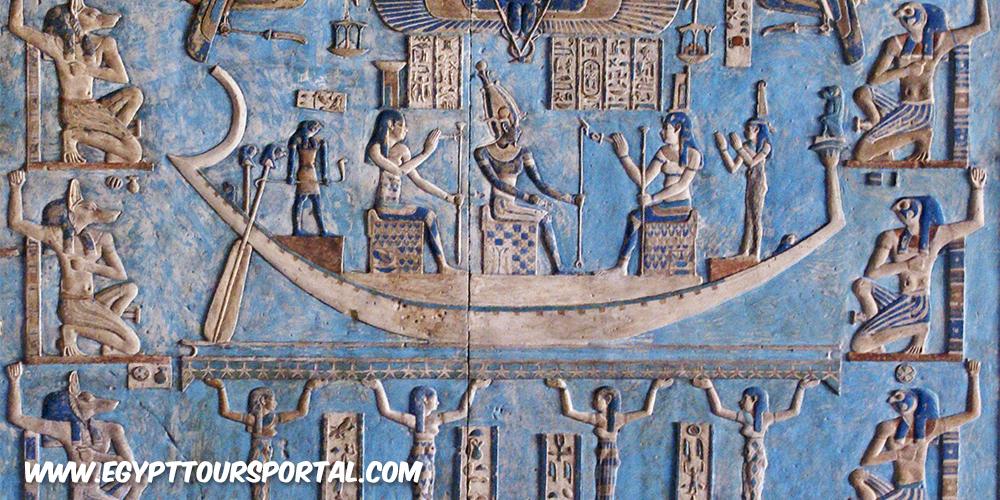 The Dendra Zodiac - Ancient Egyptian Artifacts - Egypt Tours Portal