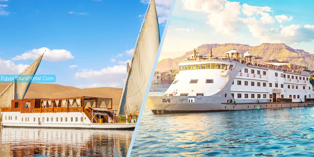 Difference Between Dahabiya Nile River Cruises and Other Original Nile River Cruises - Egypt Tours Portal